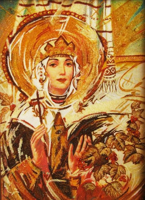 Святая Людмила - любимый чехами исторический персонаж.
