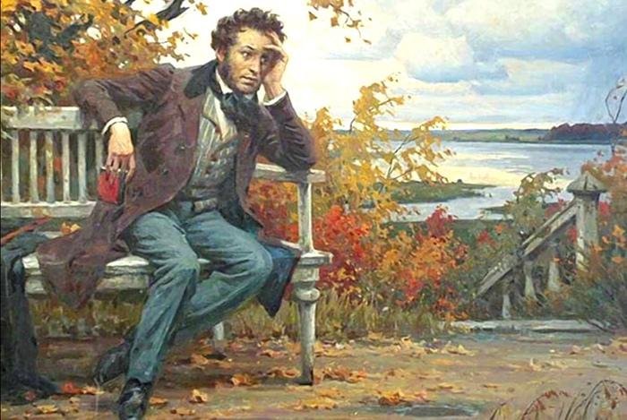 Во время восстания декабристов Пушкин был в ссылке в Михайловском.