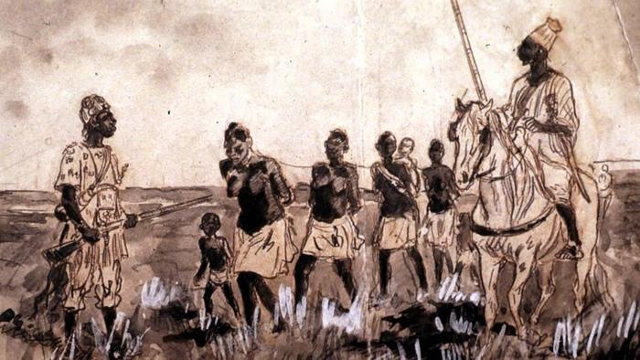 Чтобы обеспечить приток рабов, европейцы поощряли межплеменные войны на африканских прибрежных землях.