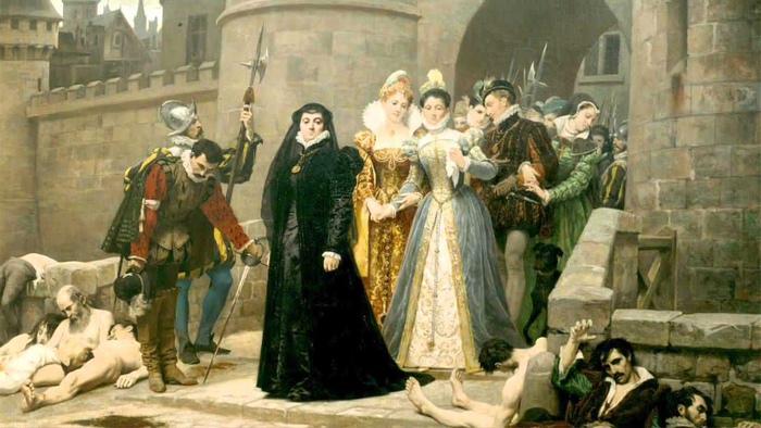 Идея устроить резню гугенотов принадлежала Чёрной Королеве.