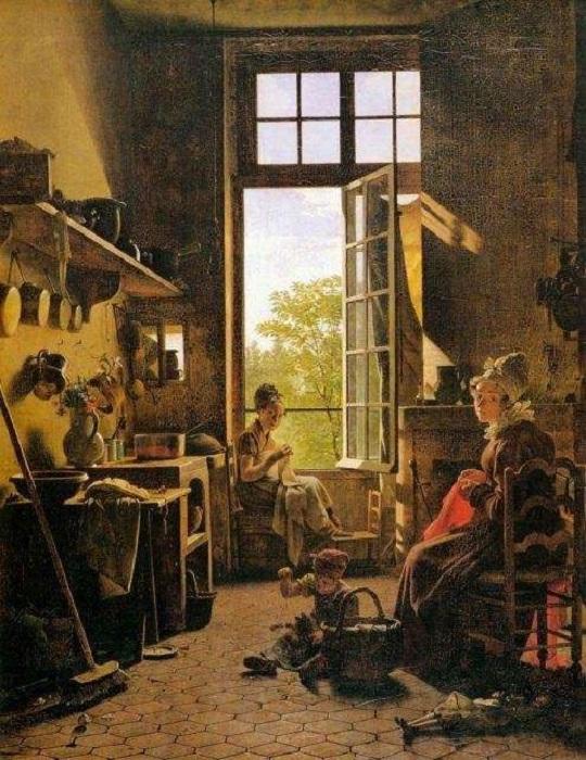 Эта картина Мартина Дроллинга нарисована преимущественно краской из древнеегипетских трупов.