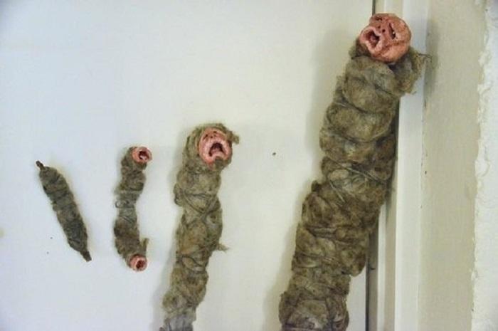 Исландские колдовские куклы.