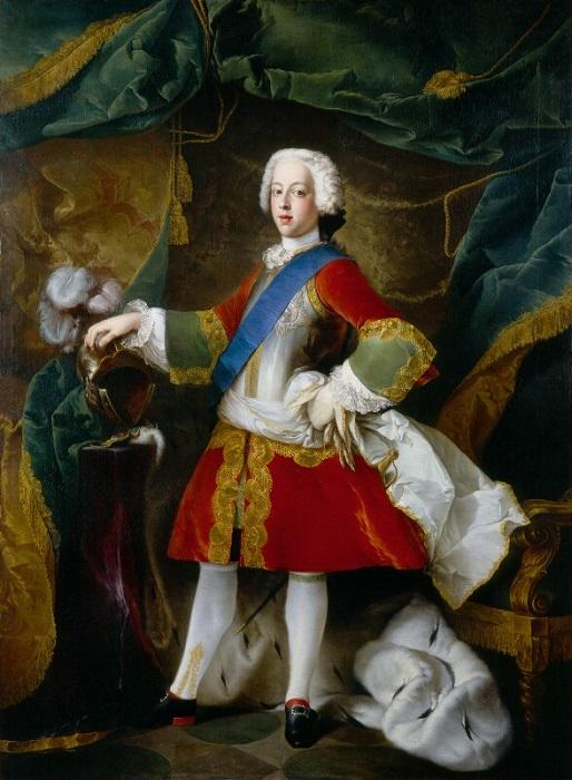 Принцев учили не вздёргивать подбородок. Портрет принца Чарльза Эдуарда Стюарта.