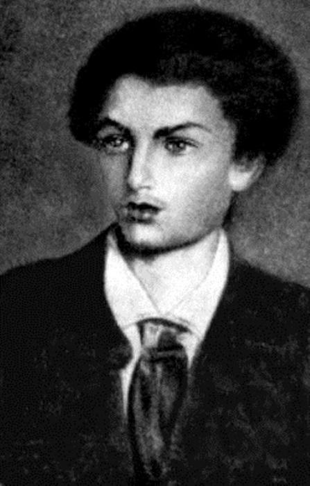 Николай Миклухо в пятнадцать лет.