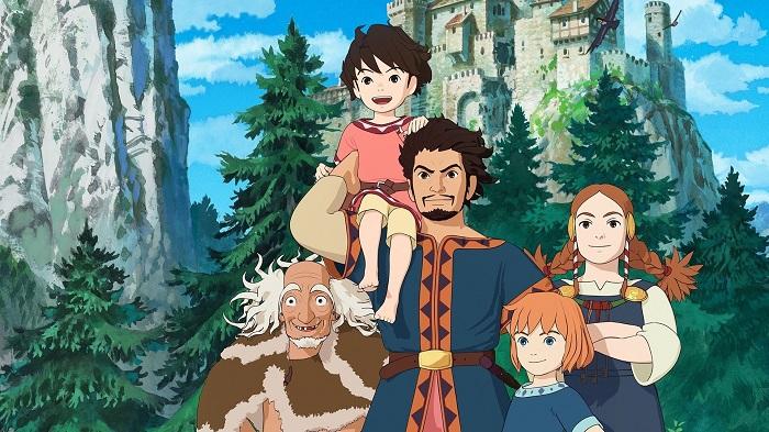 Фрагмент постера японской экранизации книги о Рони.