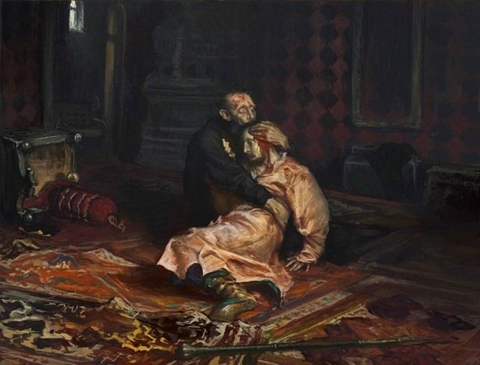 Знаменитая картина Репина.