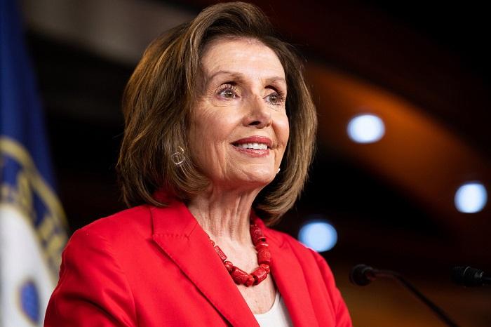 Нэнси Пелози - одна из самых ярких политиков США.