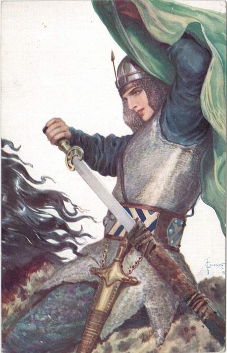 Запад древнерусских земель: Дунай и Настасья.