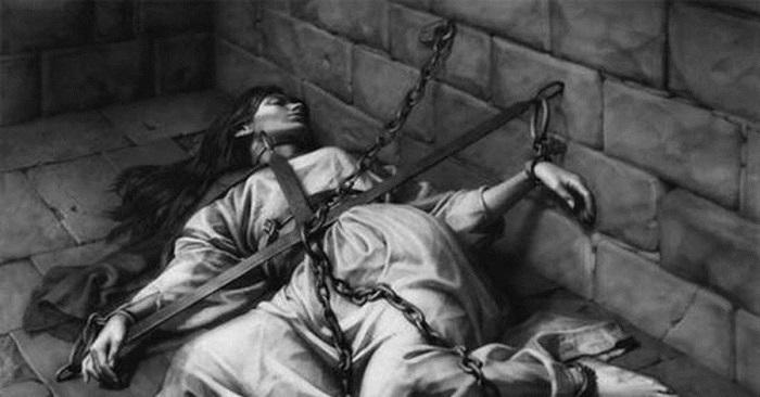 Признания, данные под пытками, в шестнадцатом веке считались лучшими доказательствами вины. Рисунок Николая Бессонова.