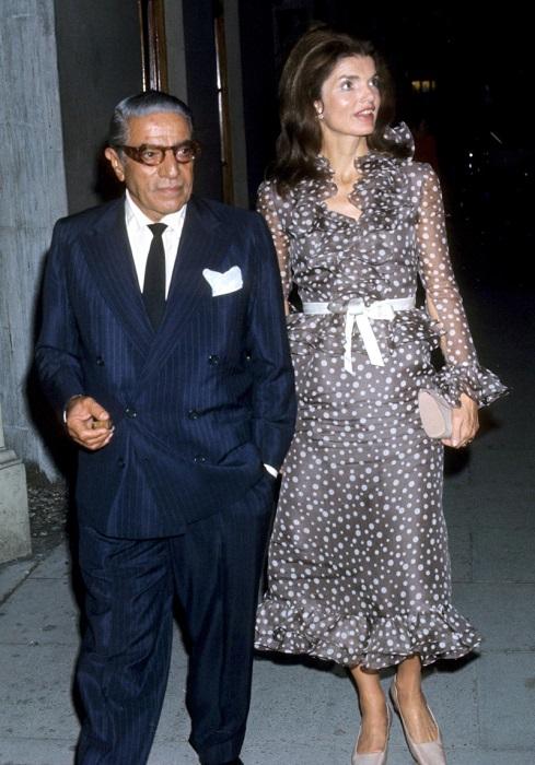 Жаклин Кеннеди постоянно боялась, что Онассис поднимет на неё руку.