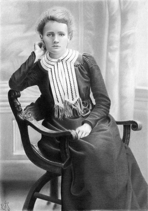 Мария Кюри.
