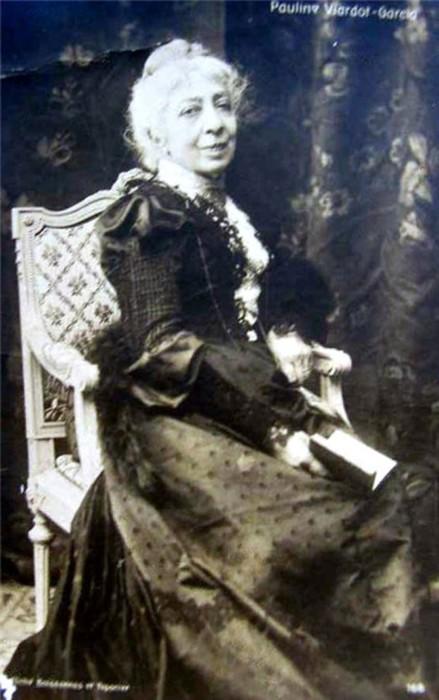 Полина Виардо-Гарсиа на склоне лет.
