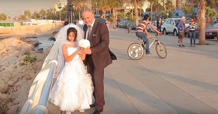 Если бы родители этой девочки действительно разрешили какому-то мужчине жениться на ней, спасти её было бы невозможно.