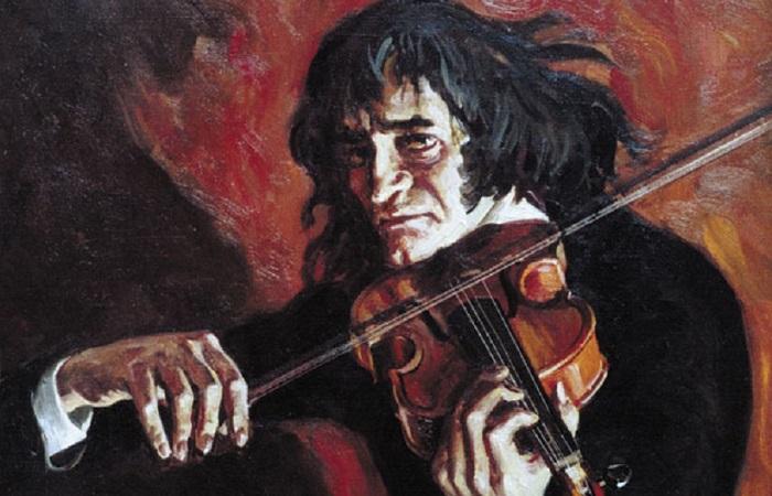 Сатанист и жадина Никколо Паганини: путь от мальчика в сарае до звезды в одежде с чужого плеча. Картина Анны Егоровой.