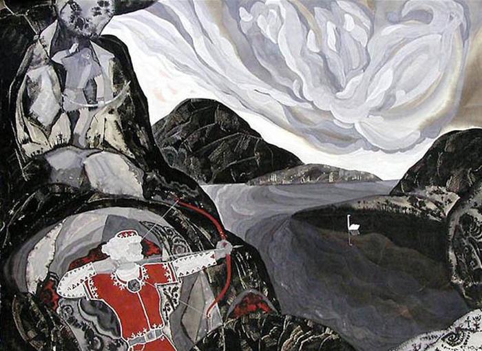 «Калевала» стала одной из первых работ художницы как иллюстратора — и одной из самых известных.