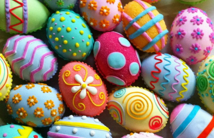 Многие народы мира на Пасху красят яйца