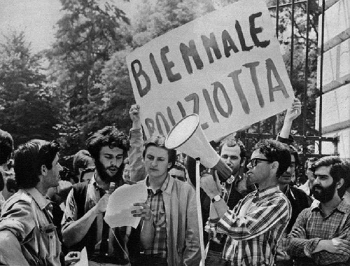 Итальянские студенты в 1968 году.