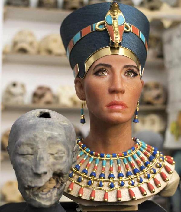 Мать Тутанхамона была ему тётей