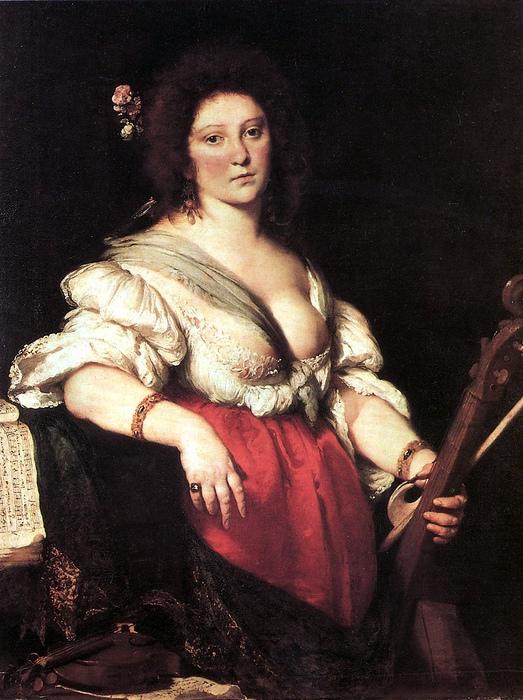 После смерти Агнессы ещё появлялись портреты женщин «в греческой одежде», то есть — с одной открытой грудью. Портрет кисти Бернардо Строцци.