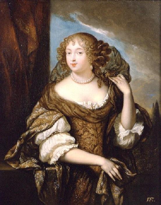 Среди клиентов ворожеи была сама маркиза де Монтеспан. Портрет кисти Гаспара Нетчера.