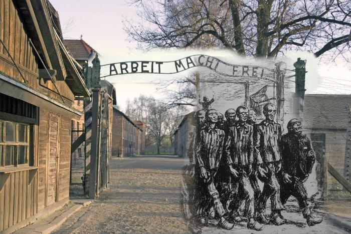В Освенциме (Аушвице) были замучены до смерти почти полтора миллиона человек