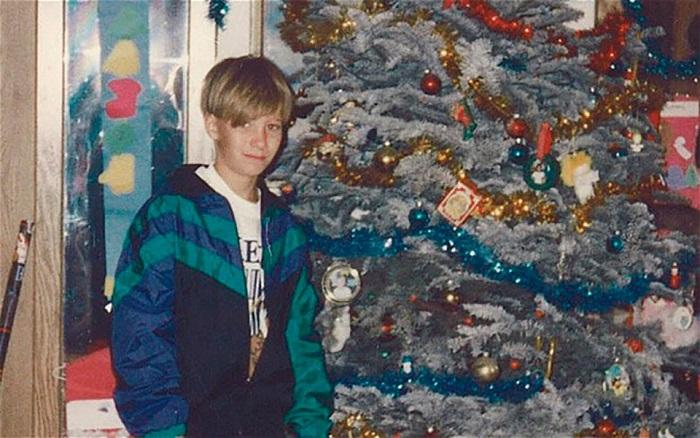 Настоящий Николас в тринадцать лет.