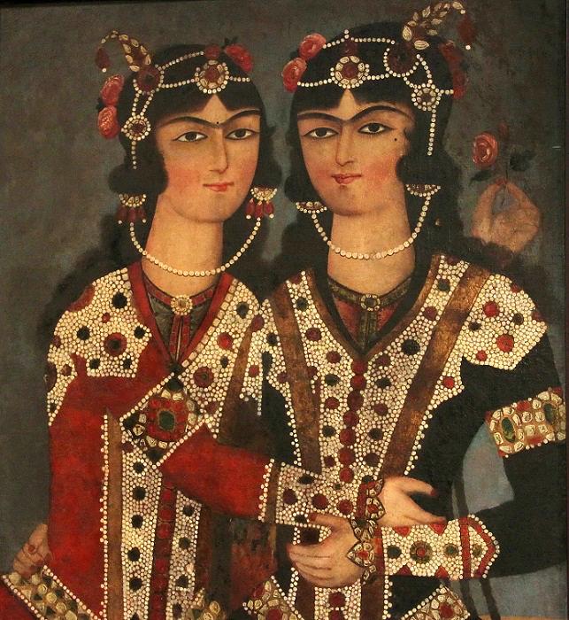 Портрет двух сестёр.