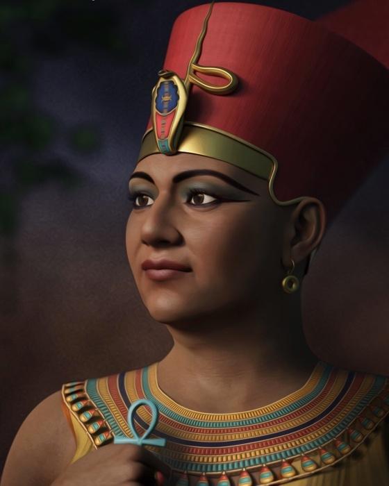 Предположительная внешность царицы Хатшепсут.