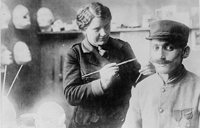 Анна Лэдд: портретистка, подарившая новые лица и новую жизнь ветеранам Первой Мировой войны.