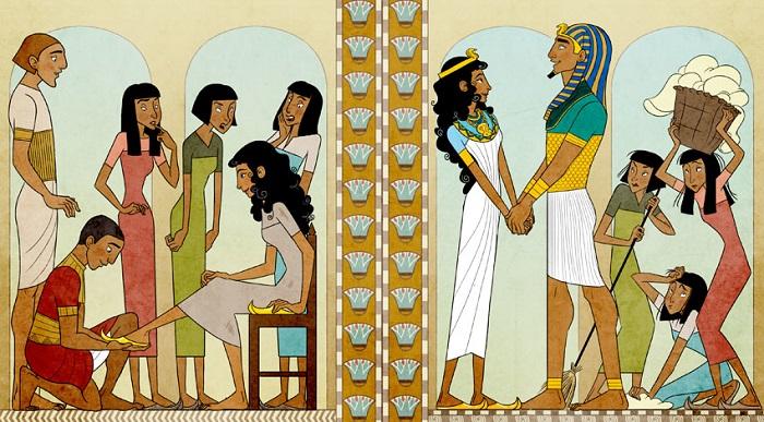 На самом деле древним египтянам сюжет поиска по туфельке и в голову бы не пришёл.