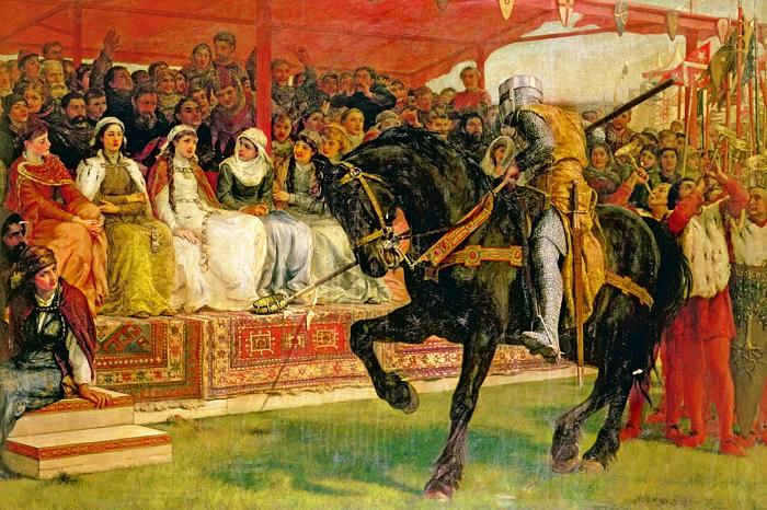 Ульрих гораздо охотнее демонстрировал свою куртуазность, чем доблесть в бою.