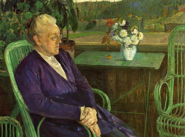 Софья Тютчева, портрет от Михаила Нестерова.