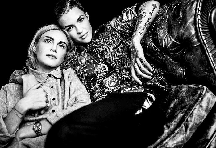 Софи Даль и Руби Роуз.