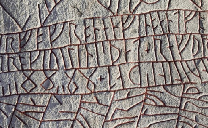По большей части, исландские язычники работали с рунами.