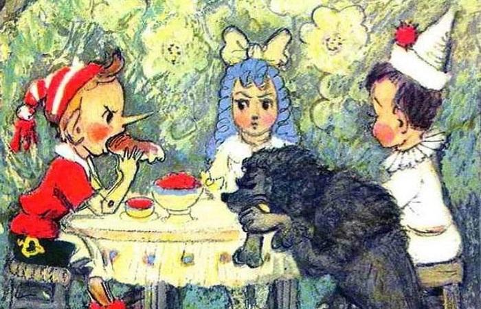 Где найти настоящих Мальвин и почему имя Светлана на самом деле не русское и даже не славянское. Рисунок Леонида Владимирского.