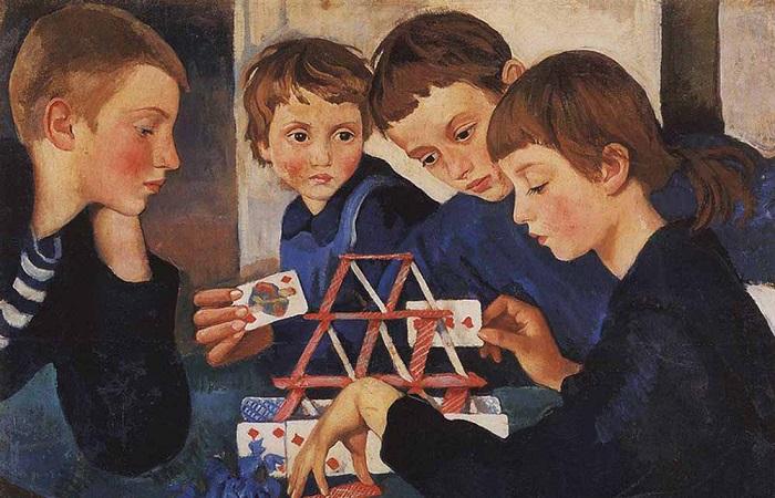 Как сложились судьбы детей шести поэтов Серебряного Века. Картина Зинаиды Серебряковой.