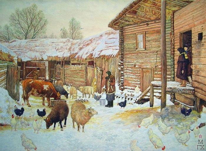День на Фёдора-скотника был очень важным: скотину заговаривали от болезней на весь год.