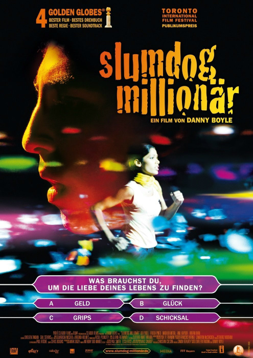Афиша фильма на немецком. Картина стала хитом во многих странах.