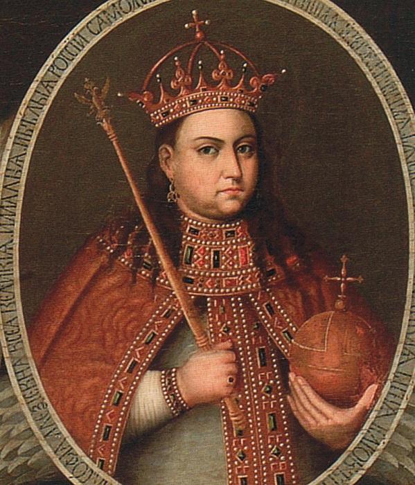 Портрет царевны Софьи.