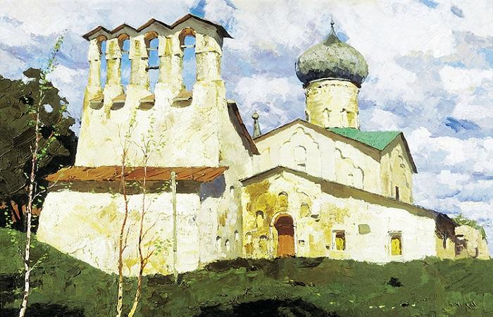 Нашествие крокодилов и стопроцентная непобедимость: Псков, город, который всегда был сам по себе. Художник Владимир Стожаров.