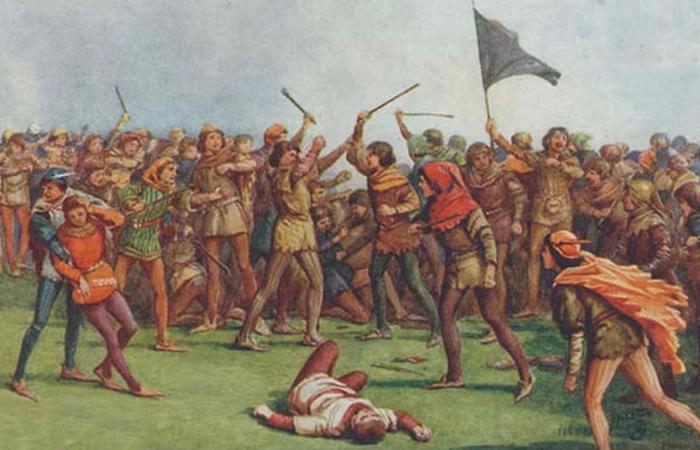 Битва в день святой Схоластики была просто дракой века.
