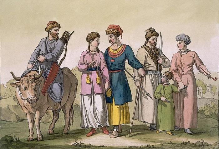 Крымские татары глазами итальянского художника.