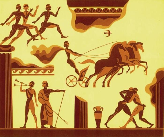 Античные олимпийские игры включали в себя соревнование герольдов.