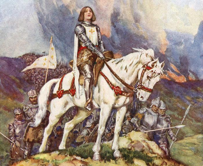 После смерти Жанны д'Арк её стало как будто немного больше.