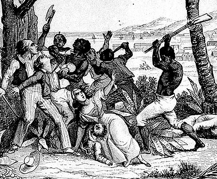 Геноцид французов на Гаити.