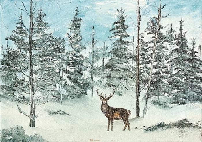Лонгстафф стал рисовать очень поздно, но его работы сразу понравились публике.