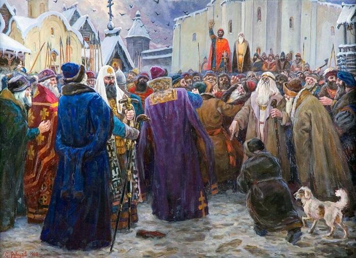Картина Семёна Рубцова.
