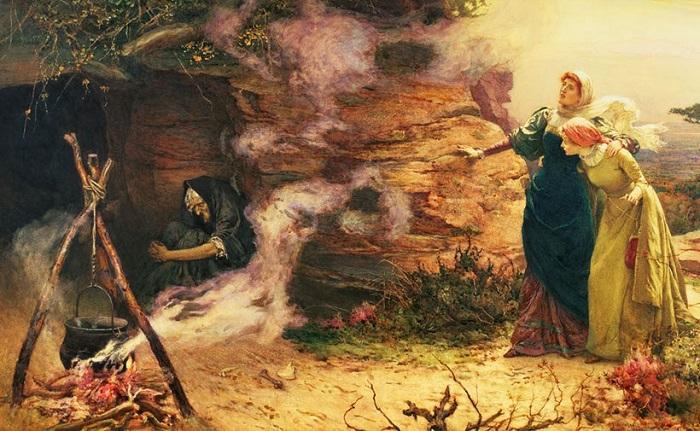 Инквизиция широко разрекламировала возможности ведьм. Картина Эдварда Брютнола.