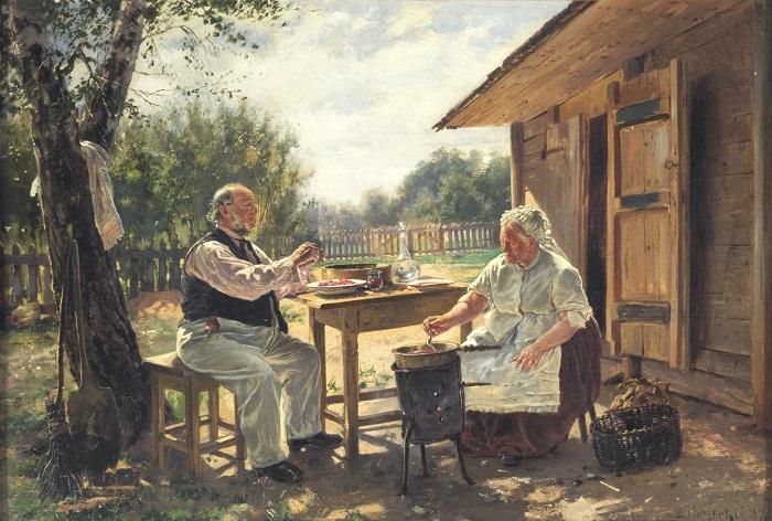 Художник Владимир Маковский.