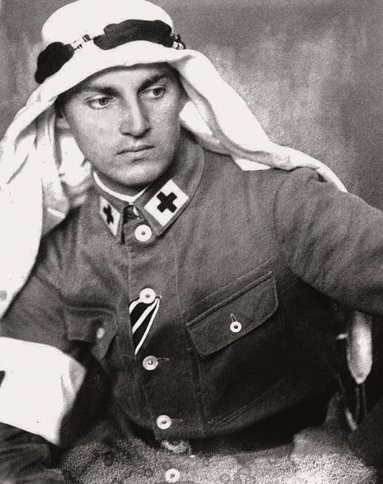 Армин Вегнер в молодости.